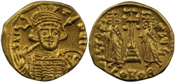 Ancient Coins - Constantine IV, Gold Solidus