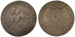 World Coins - Scotland, William & Mary 1692 Sixty-Shillings