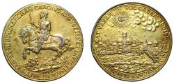 World Coins - Charles I, Return to London, 1633.