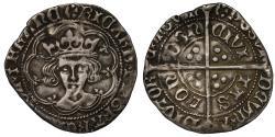 World Coins - Richard III Groat, mint mark sun and rose 1