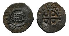 World Coins - Henry VIII, silver Farthing 2nd coinage, mm lis