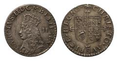 World Coins - Charles II undated milled Twopence