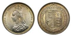 World Coins - Victoria 1887 Shilling, Jubilee issue