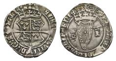 World Coins - Ireland, Henry VIII Groat issue with Jane Seymour