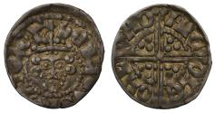 World Coins - Henry III Penny voided long cross London, class 2b