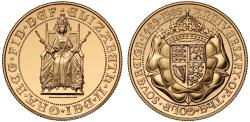 World Coins - Elizabeth II 1989 proof Two-Pounds - 500th Anniversary of the Sovereign