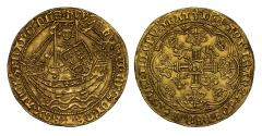 World Coins - Henry VI gold Noble Annulet issue MS63