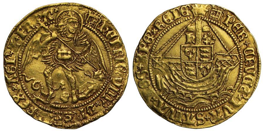World Coins - Henry VIII gold Angel