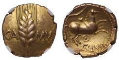 Celtic, Catuvellauni, Cunobelin, gold Stater, EF, 5/5, 3/5