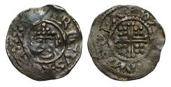 World Coins - Henry II Penny Rhuddlan Mint Wales Moneyer Halli