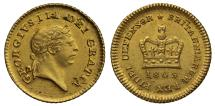 World Coins - George III 1809 Third-Guinea