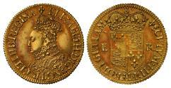 World Coins - Elizabeth I milled Half-Pound mm lis (1567-68), finest graded of type NGC MS62+
