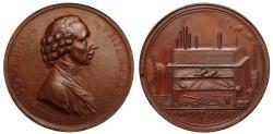 World Coins - Joseph Priestley 50th Birthday Medallic Token 1783