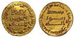 World Coins - Abbasid, temp. al-Saffah, Gold Dinar, AH132.