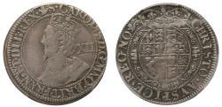 World Coins - Charles I Shilling York mint VF35