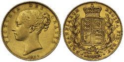 World Coins - Victoria 1839 Sovereign