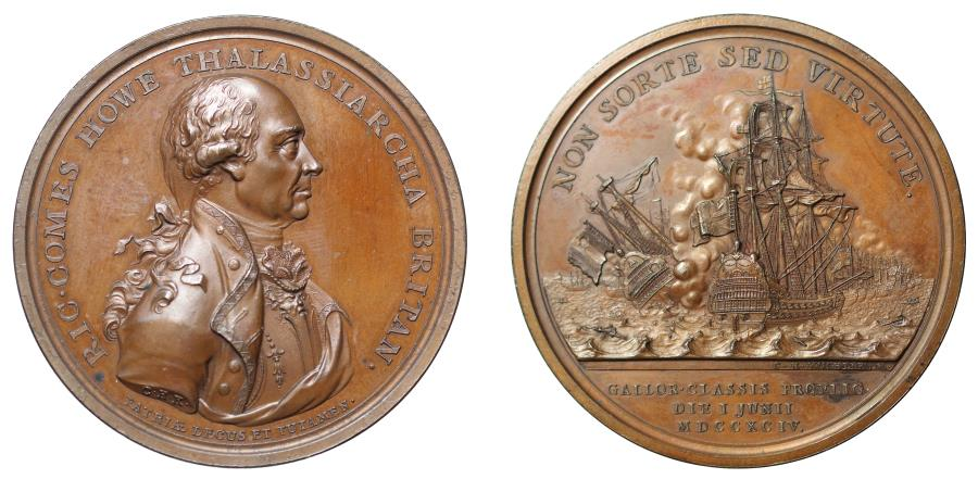 World Coins - Naval Victory of 1st June, 1794.