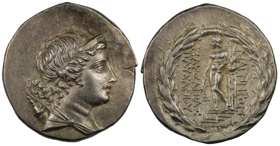Ancient Coins - Ionia, Magnesia on the Maeander, Silver Tetradrachm