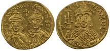 Constantine V, Gold Solidus
