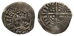 World Coins - Edward III Reading Halfpenny 3rd coinage
