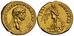 Ancient Coins - Claudius, Gold Aureus, Mint of Rome