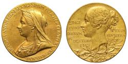 World Coins - Diamond Jubilee, 1897.