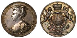 World Coins - Union of England and Scotland, 1707.
