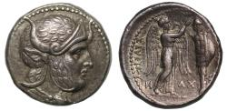Ancient Coins - Seleukid Empire, Seleukos I, Silver Tetradrachm