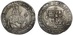 World Coins - Scotland, Charles I 30 Shillings, image of James VI, no punctuation on obverse