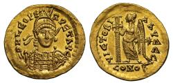Ancient Coins - Leo I, Gold Solidus, Mint of Rome
