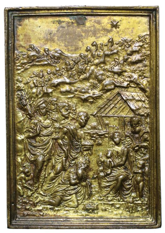 World Coins - Moderno, The Adoration of the Magi.