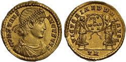 Constans gold Solidus, Treveri