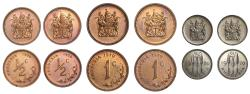 World Coins - Republic of Rhodesia, Double Proof Set, 1970.