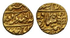 World Coins - India, Jaipur, Queen Victoria and Ram Singh, gold Mohur.