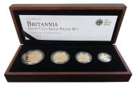 Ancient Coins - Elizabeth II 2009 Britannia 4-coin gold proof Set