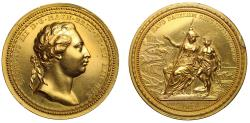 World Coins - Royal Academy Gold Prize Medal - Russian Interest