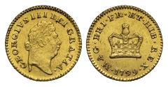 World Coins - George III 1799 Third Guinea