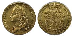 World Coins - George II 1759 Guinea AU58