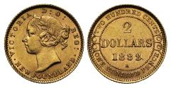 World Coins - Canada 2-Dollars 1882