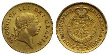 World Coins - George III 1810 Half-Guinea