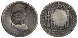 World Coins - Scottish countermark Dollar Rothesay Mills