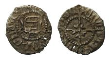 World Coins - Henry VIII Farthing 1st coinage, mm portcullis, rose on reverse