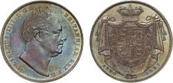 World Coins - William IV 1831 proof Crown PF60, W.W. incuse on truncation