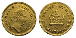 Ancient Coins - George III 1797 Third Guinea