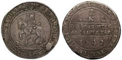 World Coins - Charles I 1642 silver Half-pound, Shrewsbury mint, 1642, Ex Butters