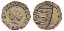 World Coins - Elizabeth II dateless Twenty Pence