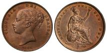 World Coins - Victoria 1841 Penny