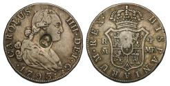 World Coins - George III countermarked 4 Reales