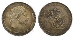 World Coins - George III 1819 Crown, LIX edge