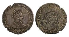 World Coins - Edward VI Shilling Durham House Mint, the rarest Mint for this reign
